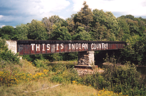This Is Indian Country BRIDGE NEW