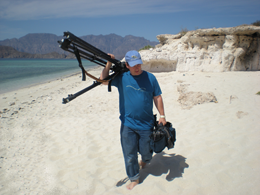 xCREW Photographer Kevin Ely wraps last interview at Isla de Carmen photo Vince Cooke